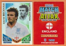 England David Beckham A.C Milan Limited Edition